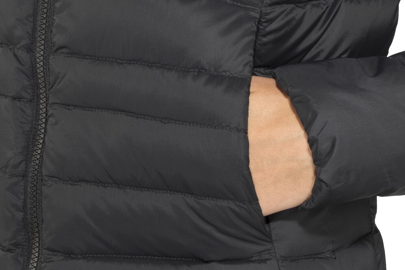 Fjällräven Keb Touring Manteau en duvet Femme, black sur